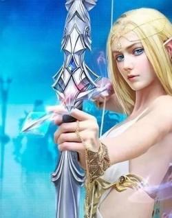薩凡娜:瞬間成精靈小仙女的手遊人物